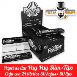Papel Pay-Pay Slim con Tips...
