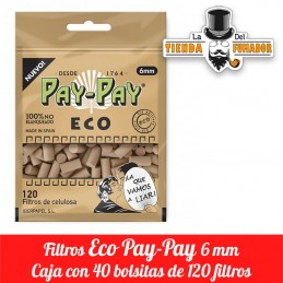 Filtros Pay-Pay Eco 6mm 40...