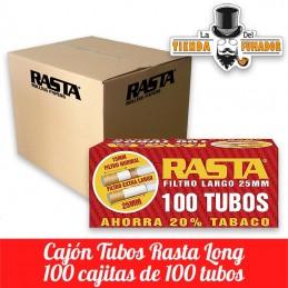 TUBOS RASTA 100 LONG (100u)