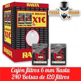 Cajón Filtros Rasta 6mm...