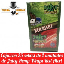 JUICY HEMP WRAPS RED ALERT...