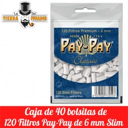 Filtros Pay-Pay Classic 6mm...