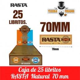 PAPEL RASTA NATURAL 70MM 25...