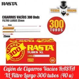CIGARROS VACIOS RASTA 300...