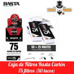 FILTROS CARTON RASTA (50...