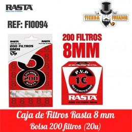 FILTROS RASTA 200/8MM 20...