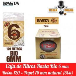 FILTROS BIO 120F/6MM+PAPEL...