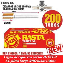 CIGARROS VACIOS RASTA 200...