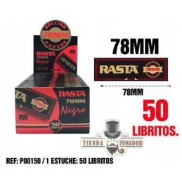 PAPEL RASTA 78MM 50 LIBRITOS