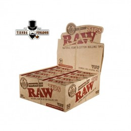 RAW TIPS PERFORATED WIDE (50U)