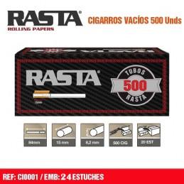 TUBOS RASTA 500 (24u)