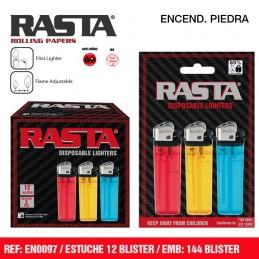 ENCENDEDOR RASTA BLISTER 3u...