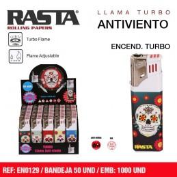 RASTA TURBO SKULLS (50u)