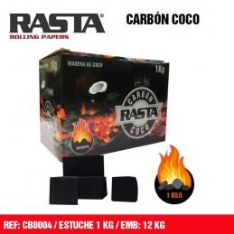 CARBON MADERA DE COCO RASTA...