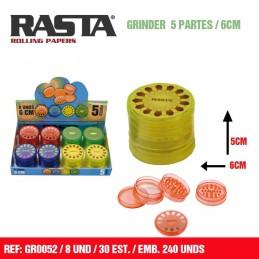 GRINDER RASTA MANDALA (8u)