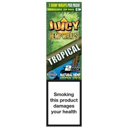 JUICY HEMP WRAPS TROPICAL...