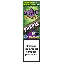 JUICY HEMP WRAPS PURPLE (25u)