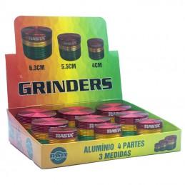 GRINDER RASTA ALUMINIO 3...