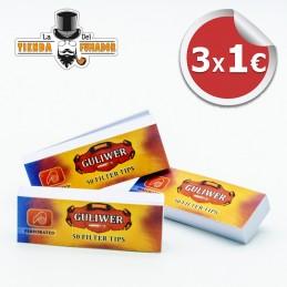 Pack 3 Filtros carton GULIWER