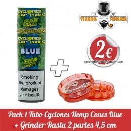 Pack CYCLONES HEMP BLUE mas...