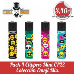 Pack 4 CLIPPER Mini...