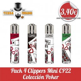 Pack 4 CLIPPER Mini...