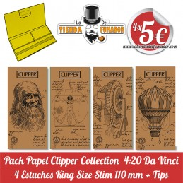 Pack 4 estuches papel...