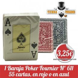 1 Baraja Poker Fournier nº 611