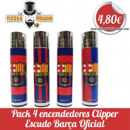 Pack 4 clippers CP11 F.C....