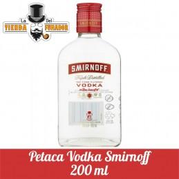 PETACA VODKA SMIRNOFF 200 ML